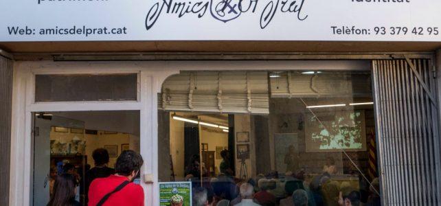 Imatges de la inauguració de la nova seu d'Amics d'El Prat